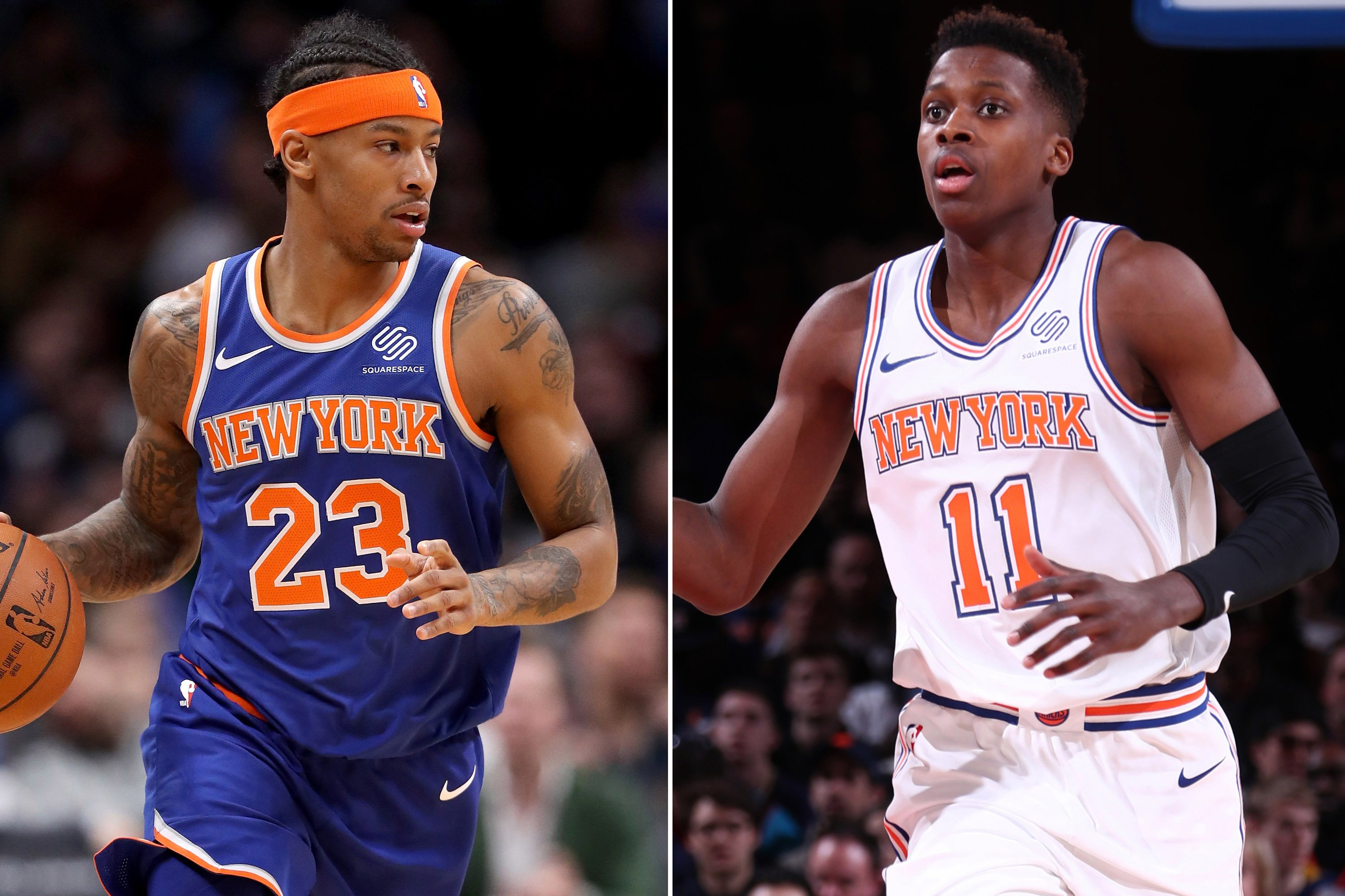 A move that would benefit Trey Burke and Frank Ntilikina