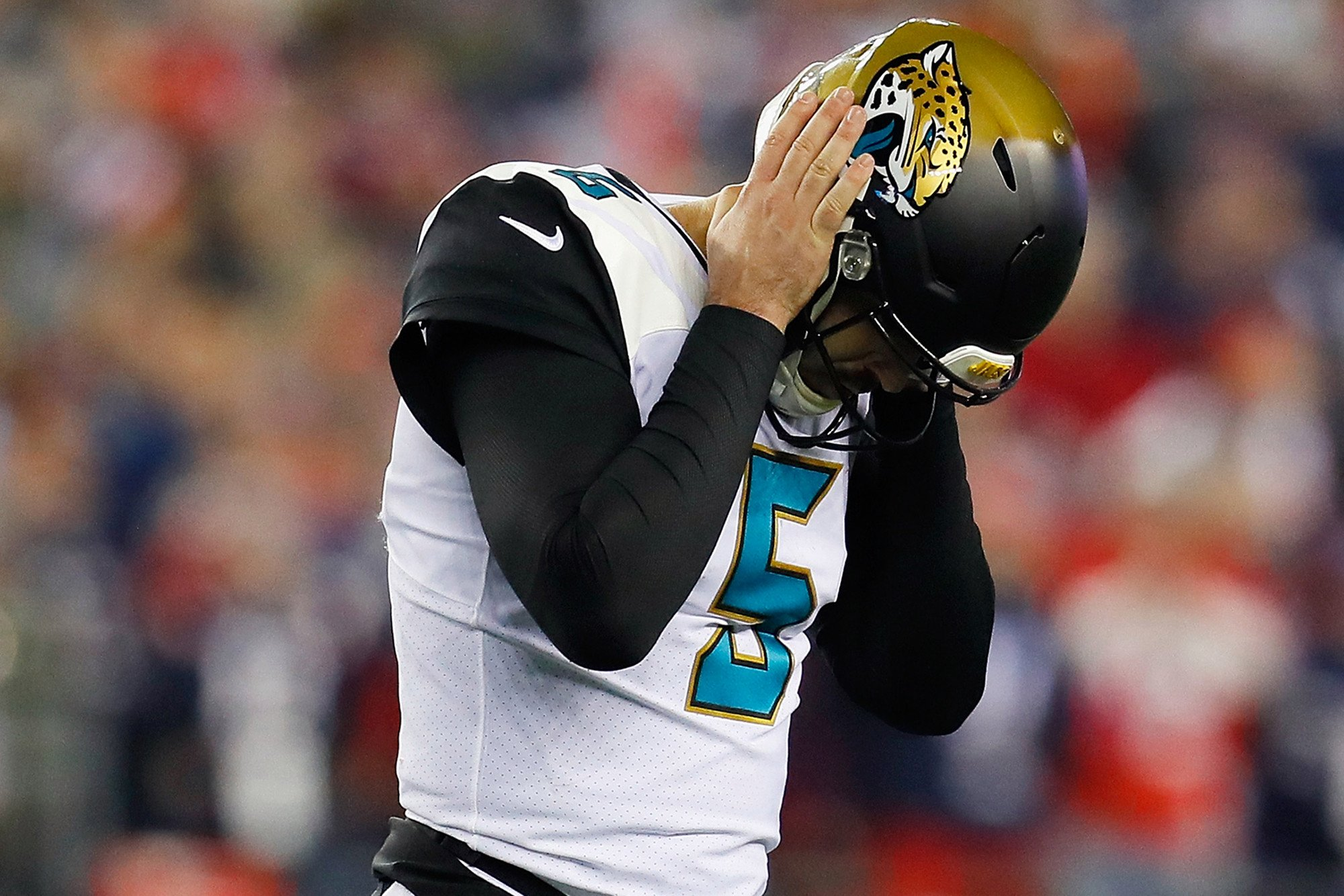 Blake Bortles' face shows how much Brady crushed Jaguars