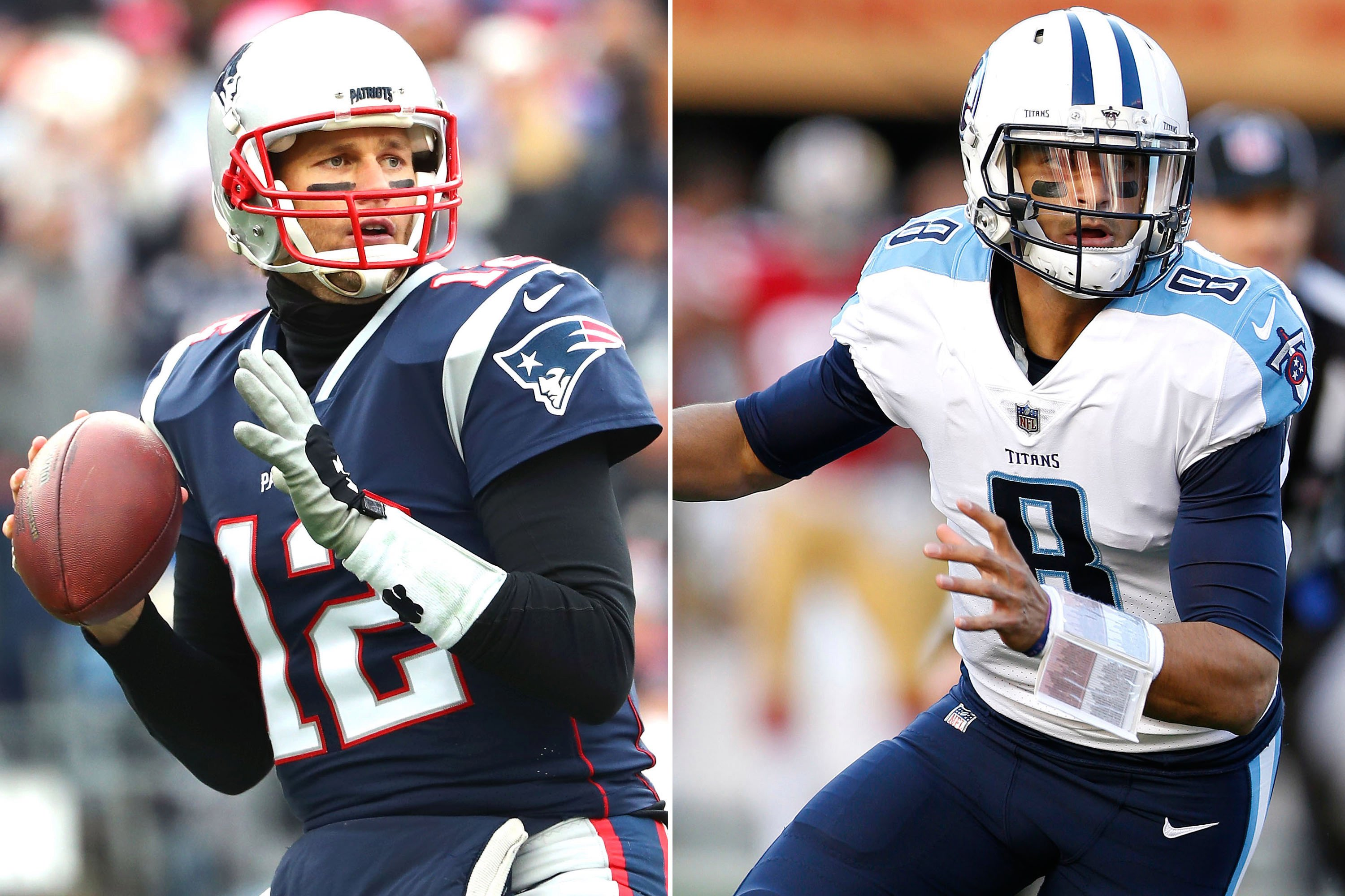 Patriots, Titans can talk like this will be competitive, but it won't