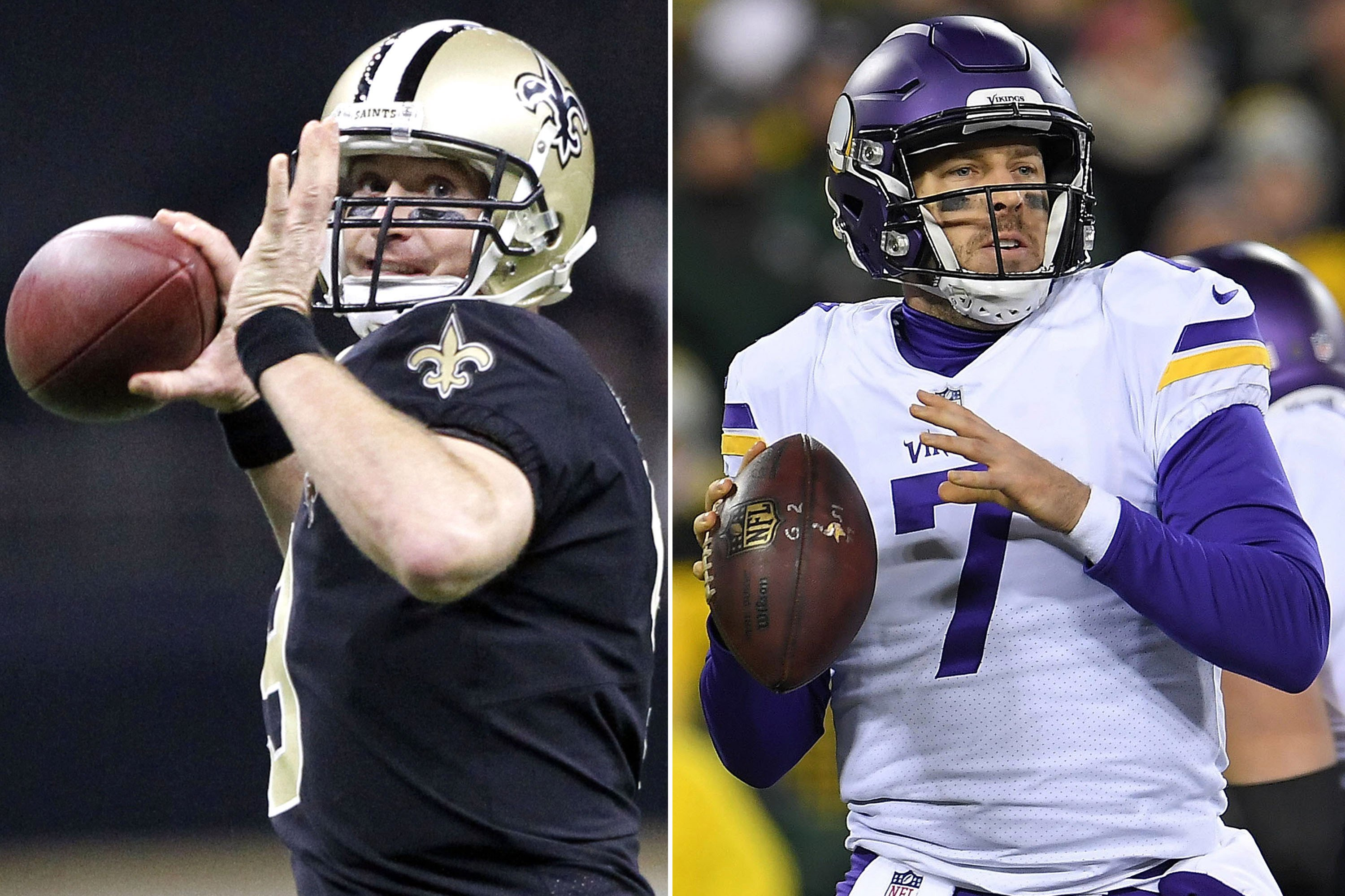 Saints must clear two big hurdles if they want to upset the Vikings