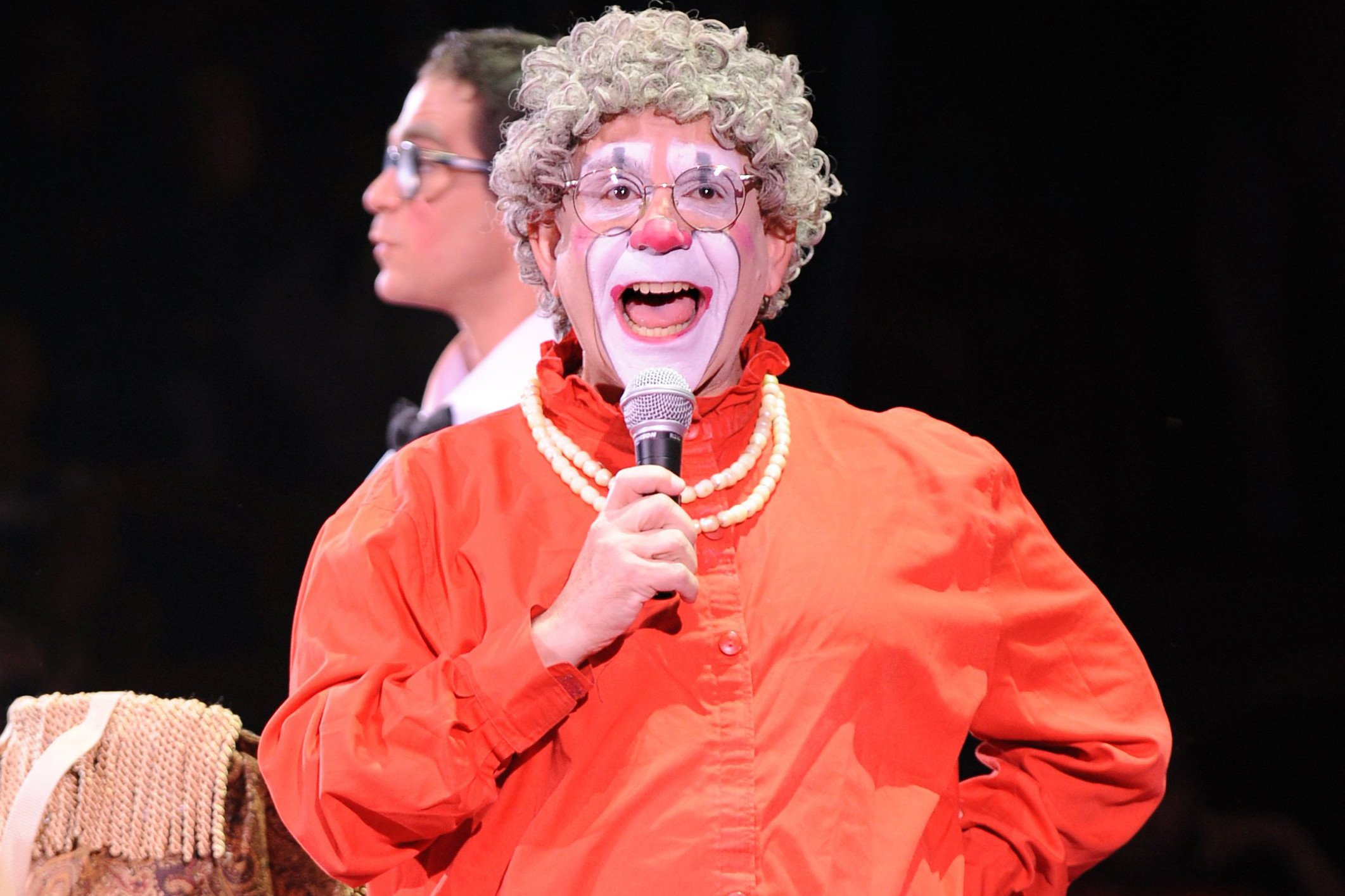 Famed Big Apple Circus clown accused of coercing teen into taking sexual photos