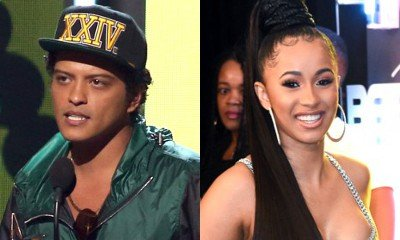 Bruno Mars and Cardi B to Collaborate Onstage at the 2018 Grammy Awards