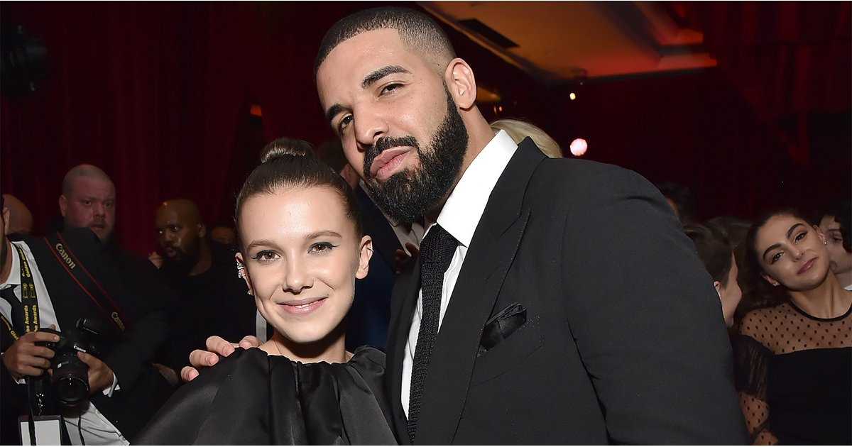 Drake Reunites With BFF Millie Bobby Brown and Mingles With Mary J. Blige