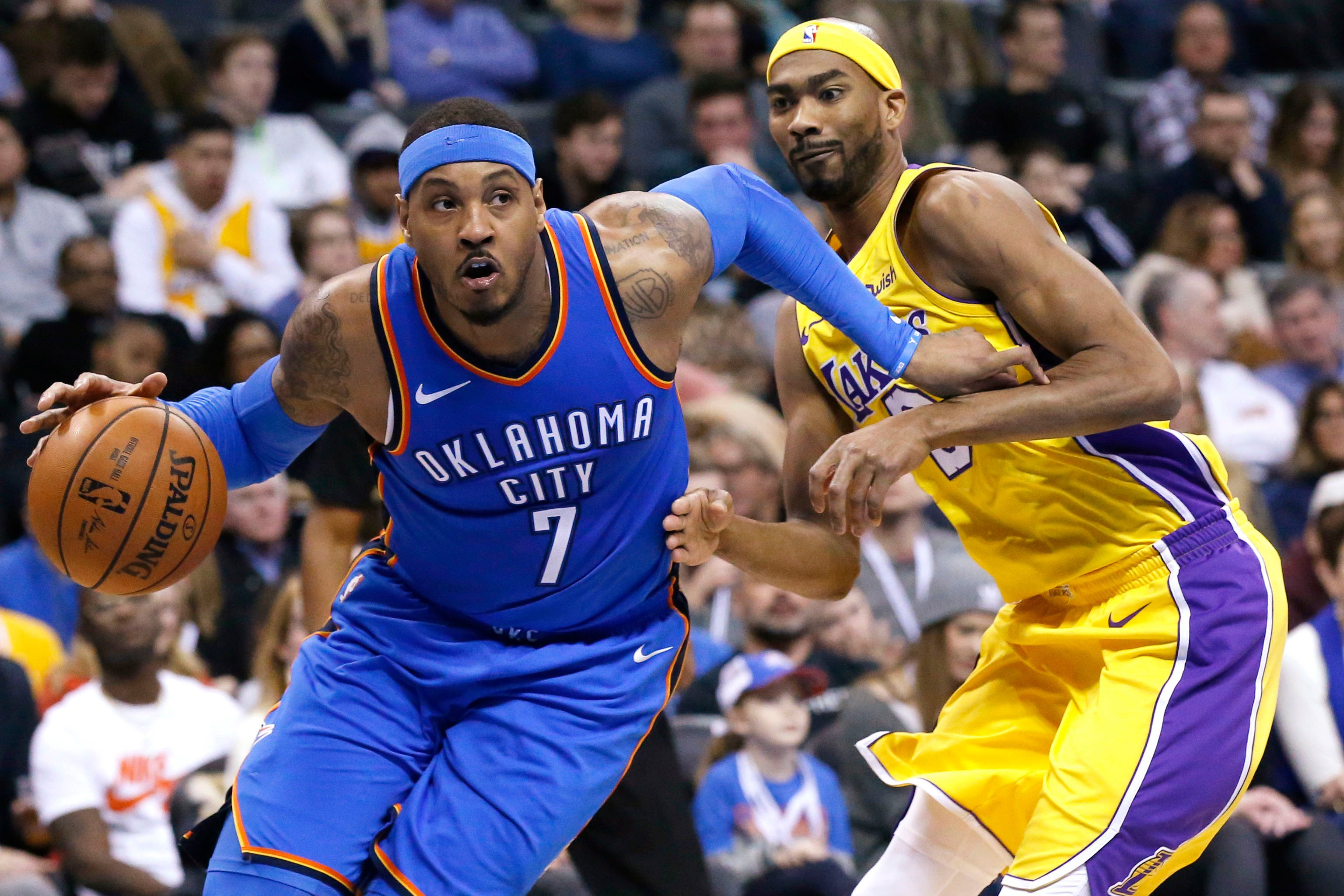 """Carmelo Anthony having """"fun again' as Thunder keep rolling"""