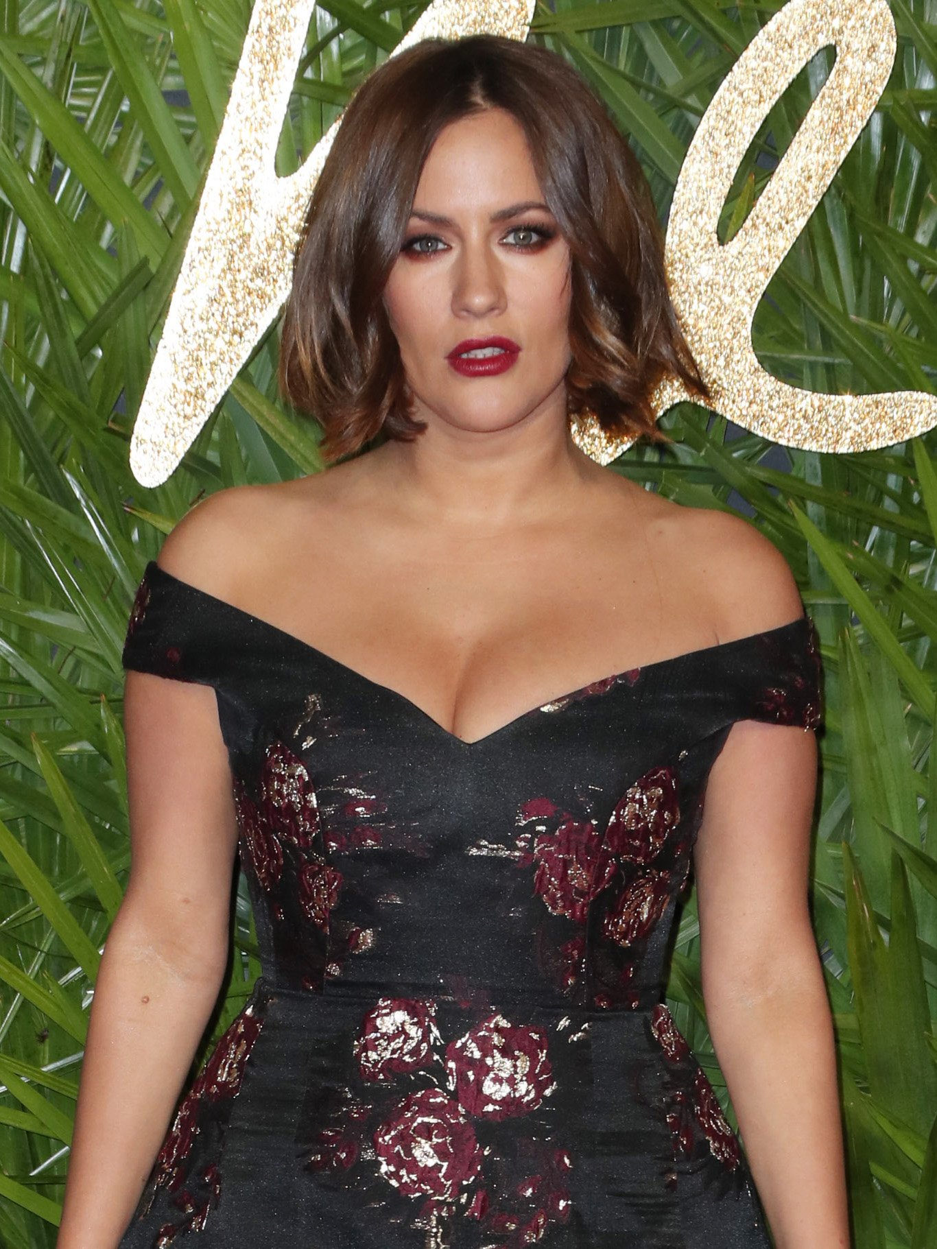 Caroline Flack strips completely NAKED for seriously