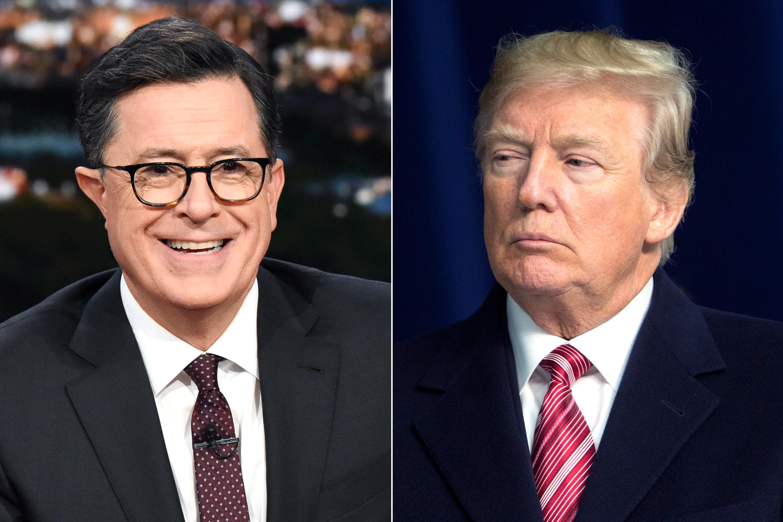 Colbert to go live after Trump's State of the Union address