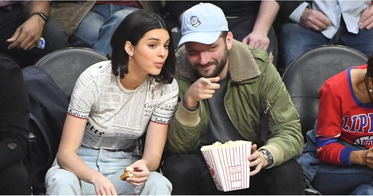 Kendall Jenner's Officially the Coolest Girl in the Stadium Thanks to Her Sneakers
