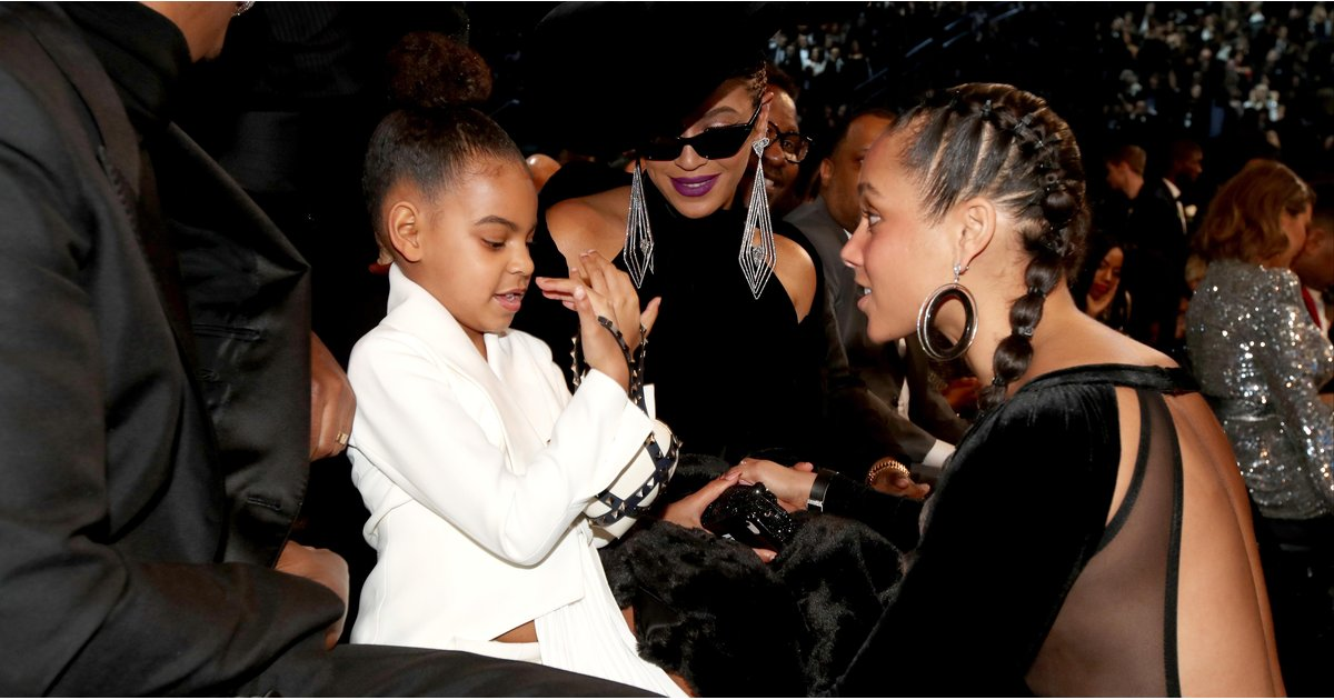 The 2018 Grammys Were Definitely Not Blue Ivy's First Rodeo