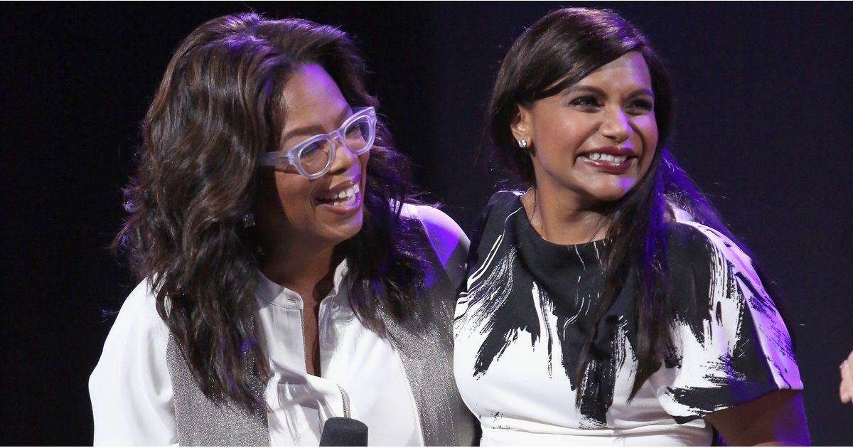 Leave It to Mindy Kaling to Have the Best Response to Oprah's Golden Globe Award