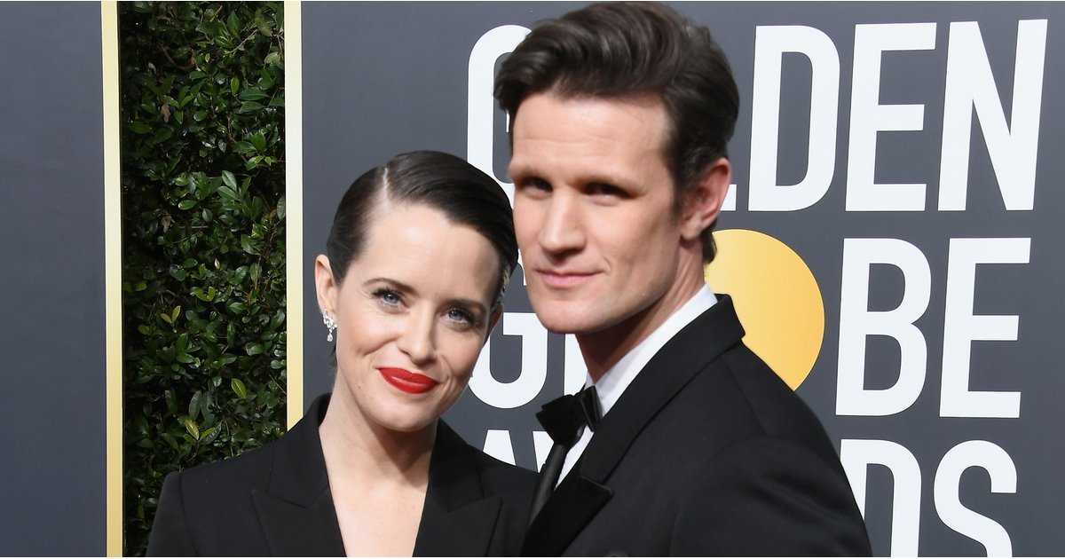 The Crown's Claire Foy Looks More Like James Bond Than Queen Elizabeth at the Golden Globes