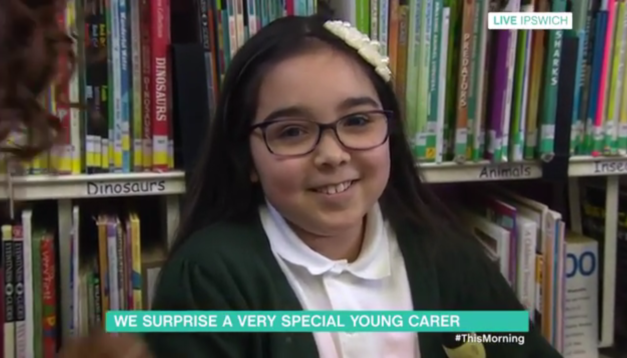 This Morning viewers in hysterics as girl, 8 makes an adorable blunder live on air