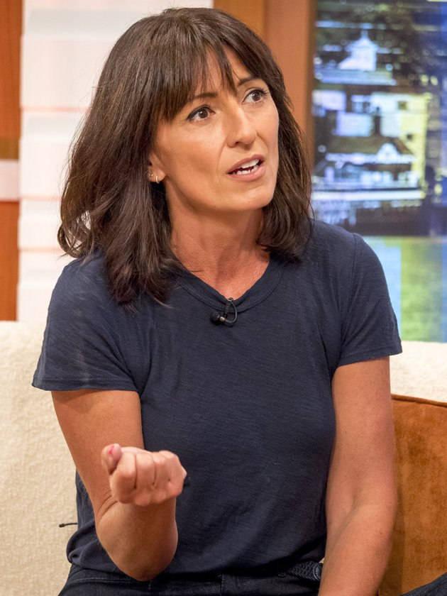 Davina McCall forced to call the POLICE after she finds 'live bullet'
