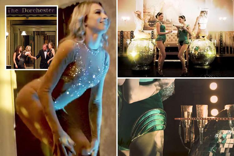 Sexy promo videos of modelling agency which supplied hostesses to Presidents Club bash – and paid them just £150