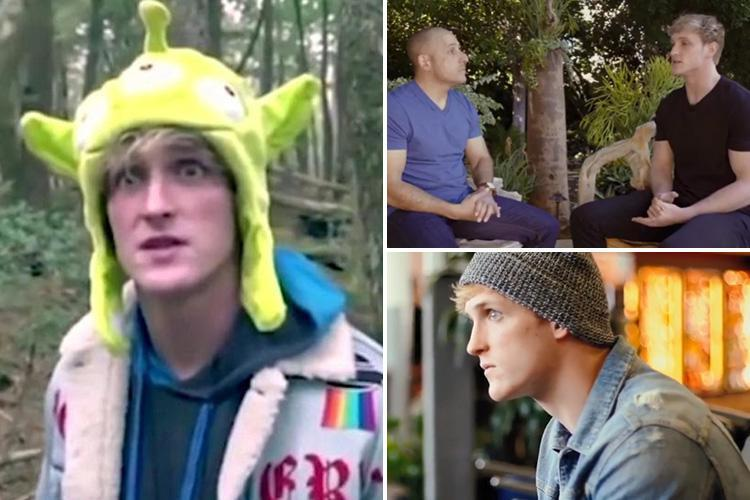 YouTuber Logan Paul shares suicide prevention video and says he wants to 'learn from the past' after dead body footage backlash
