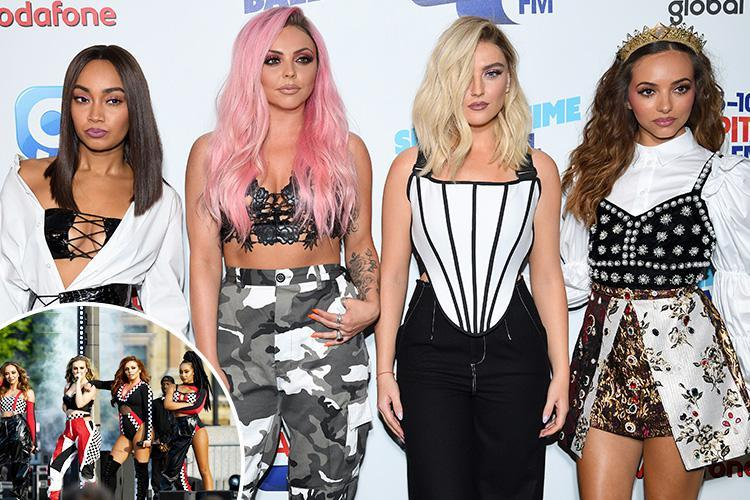 Little Mix have been secretly recording their fifth album as they prepare to storm the charts in 2018