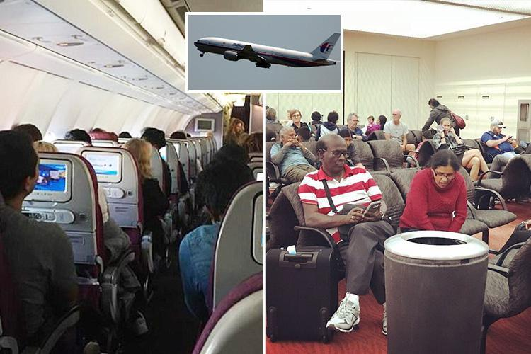 Terrified Malaysian Airways passengers on 'violently shaking' plane feared for their lives as they braced for emergency landing in Aussie Outback