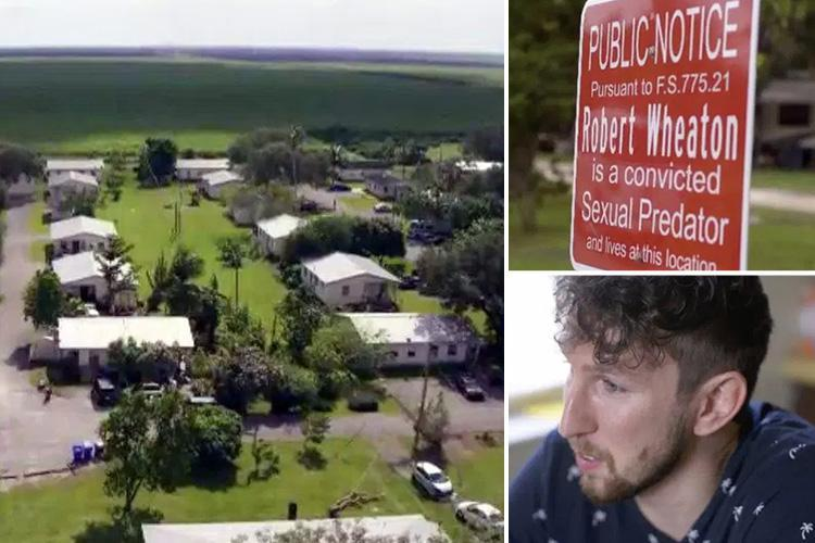 Inside the secret town dubbed Miracle Village where 100 convicted paedos live together cut off from society
