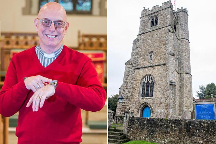 Vicar hits brides with £100 fine if they are late for their own wedding