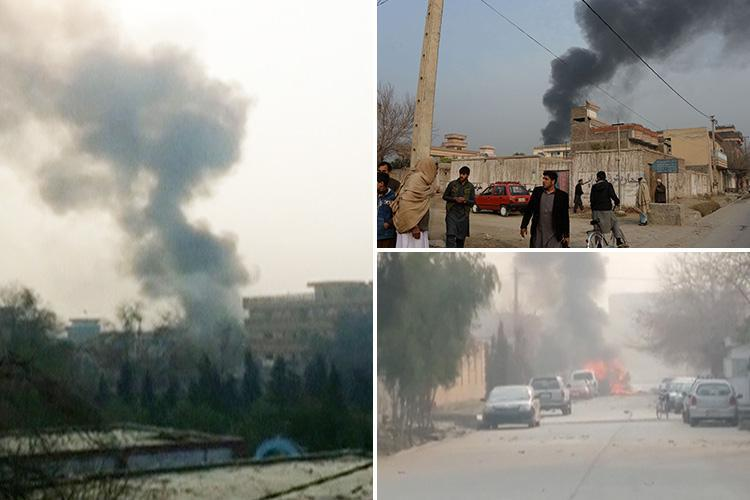 Save The Children charity office attacked in suicide bombing and gun rampage in Afghanistan leaving 11 injured