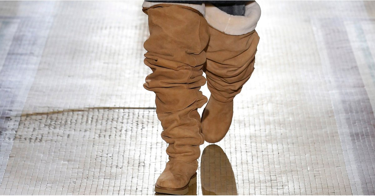 These Thigh-High UGG Boots Were Made For Fashion Rule Breakers Like Rihanna
