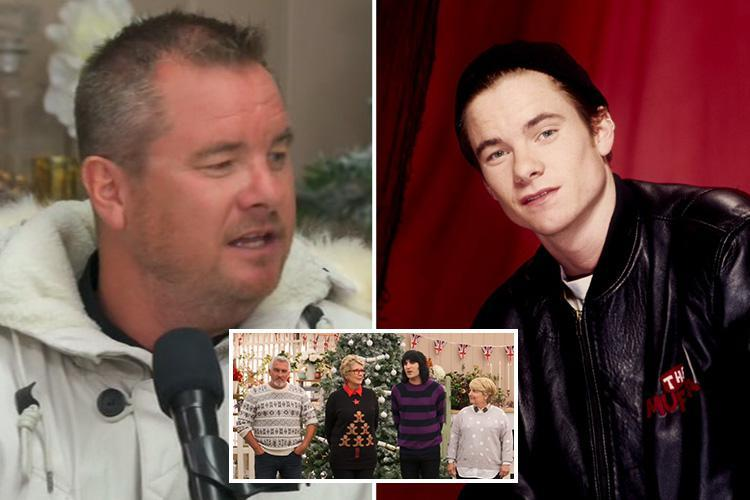 Great British Bake Off fans fail to recognise East 17's Tony Mortimer, 47, as he makes a guest appearance on festive special