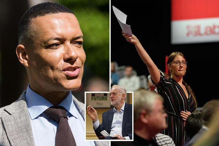 Corbyn brings Clive Lewis back into the fold… just months after he was filmed telling Labour member 'get on your knees b***h'