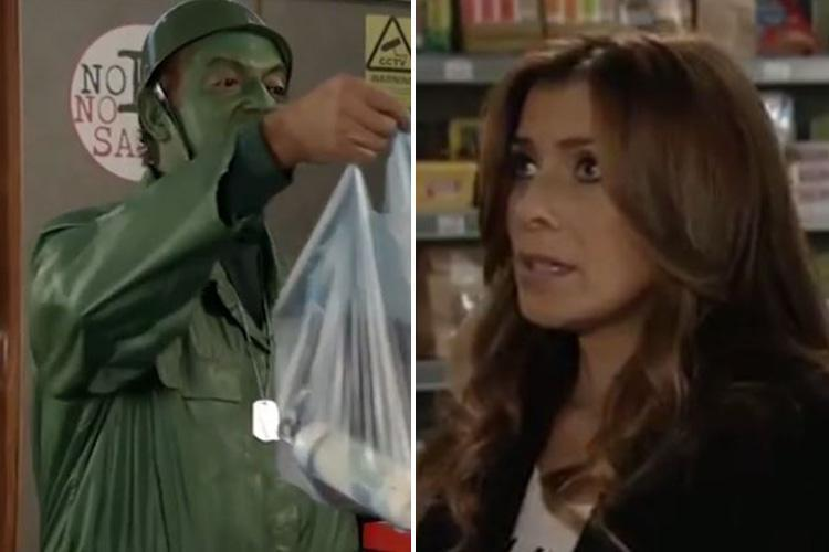 Coronation Street viewers spot major blunder as Michelle Connor racks up a massive bill in the corner shop but only buys three things