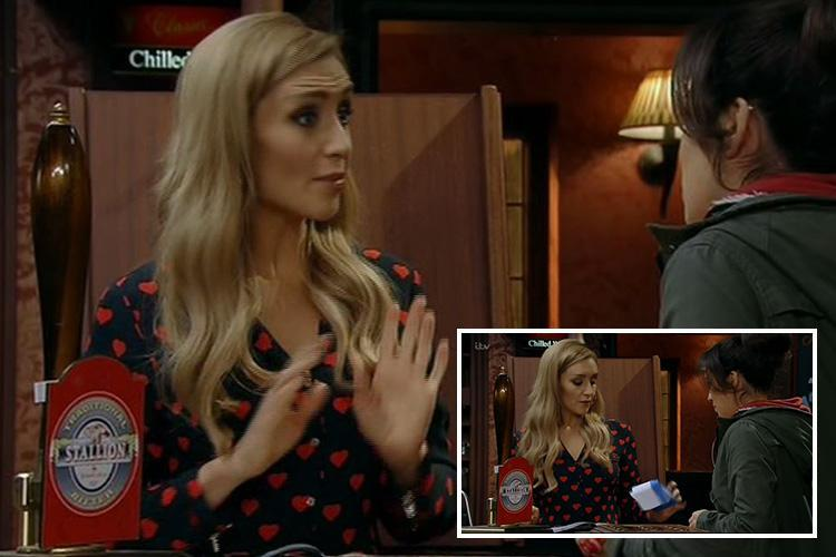 Coronation Street fans debate who the father of Eva Price's baby could be after the barmaid appears to be pregnant