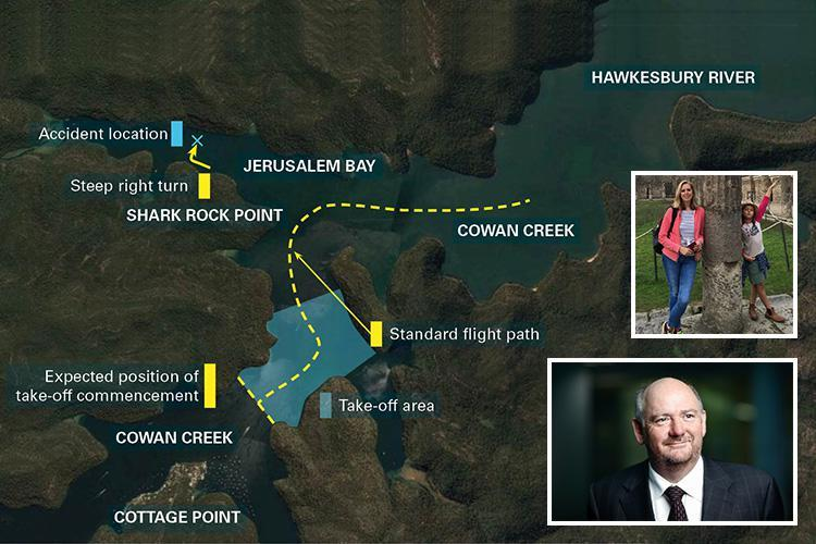 Sydney seaplane that crashed killing Brit family-of-five veered off course and nose-dived into river, final route reveals