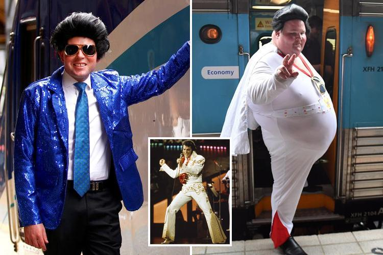 It's Viva Mass Vegas at Elvis convention as lookalikes show up in Sydney to celebrate rock icon