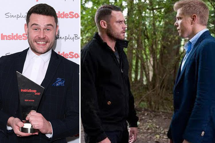 Emmerdale's Aaron Dingle has a 'really big decision' to make about his future with ex Robert Sugden in Valentine's storyline