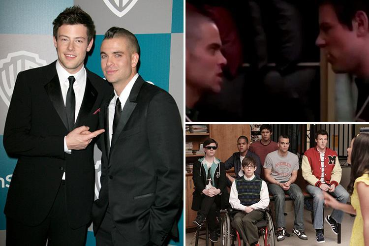 Haunting sing-off between two tragic Glee stars Mark Salling and Cory Monteith who were both dead eight years later