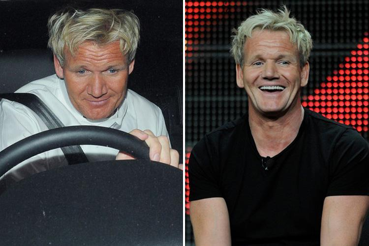 Gordon Ramsay evades speed cameras by 'wrapping number plates in clingfilm'