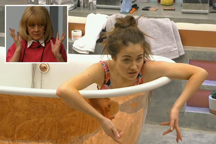 Celebrity Big Brother fans mock Jess Impiazzi when she asks if 'World War Three has happened'