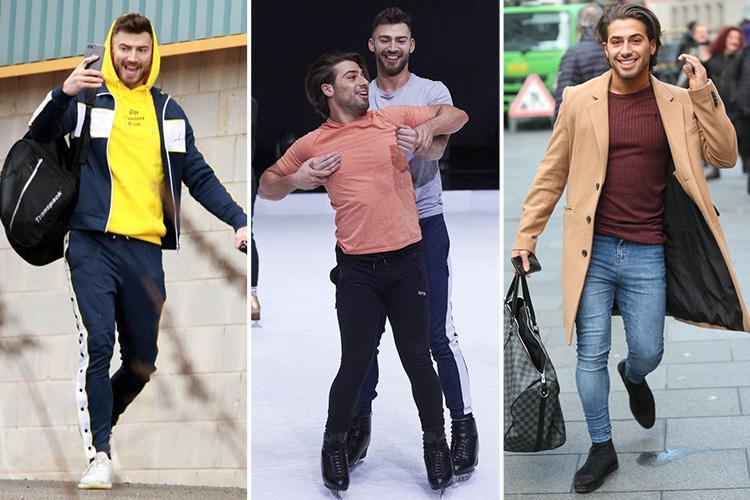 Dancing On Ice's Jake Quickenden and Kem Cetinay on thin ice over backstage behaviour