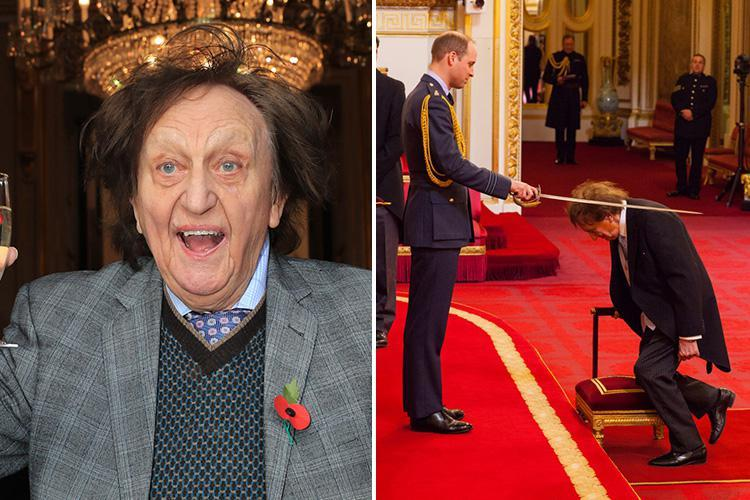 Legendary comic Sir Ken Dodd is in hospital with a severe chest infection after being struck by flu