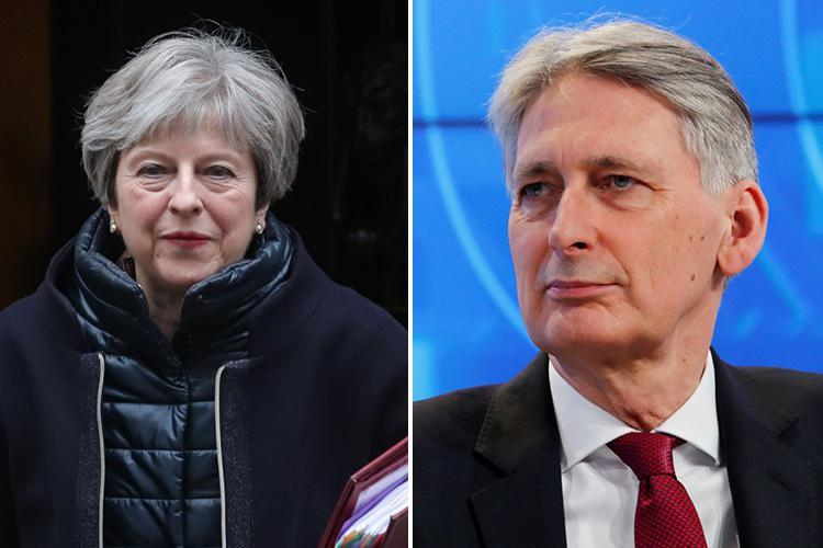 Furious Conservative MPs demand Theresa May give Chancellor Philip Hammond 'final warning' in Brexit row