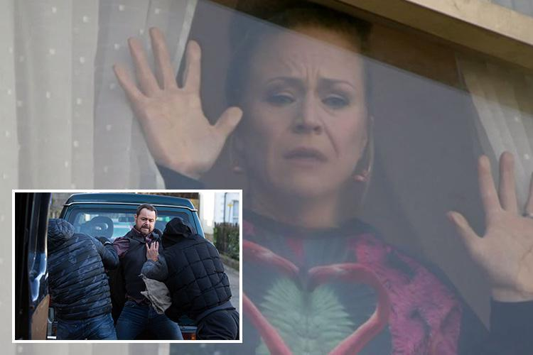 Eastenders viewers spot something very odd about Linda's reaction as she see Mick being kidnapped by thugs