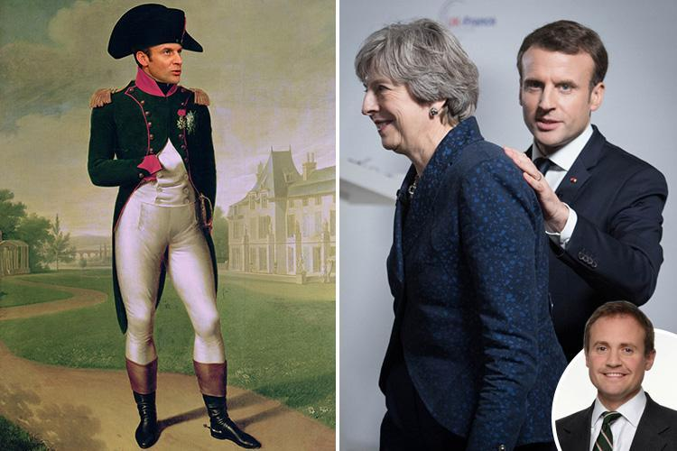Conservative MP asks whose side the ambitious French President Emmanuel Macron is really on — and is he bona fide or Napoleon Bonaparte?