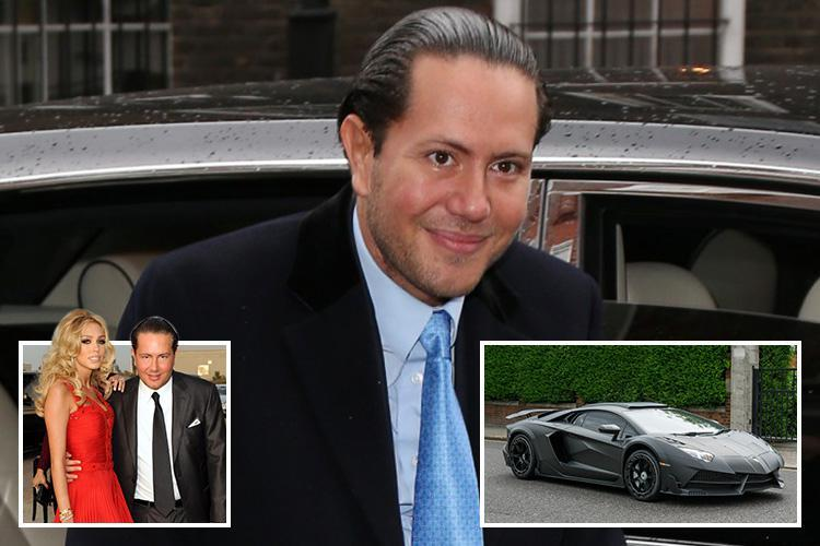 James Stunt was keeping the key to his £90m safe in his Lamborghini