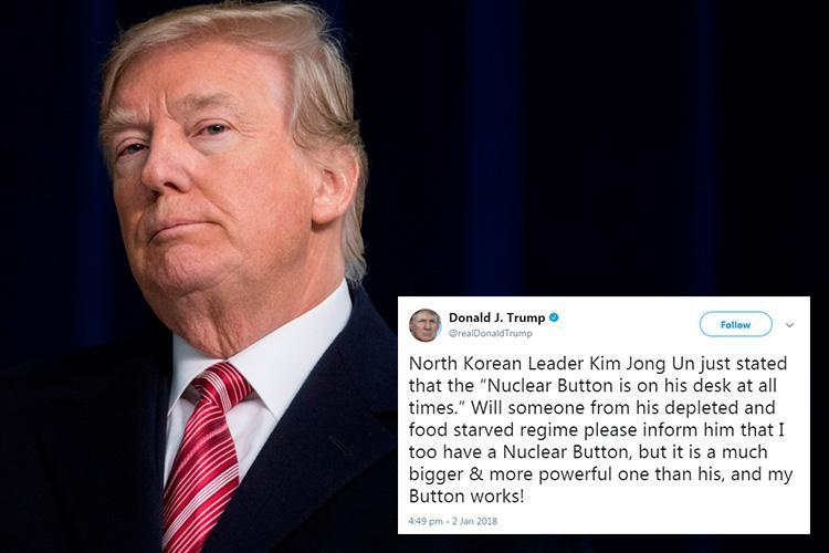 Twitter reveals the reason it won't block world leaders in wake of Trump's nuclear button tweets