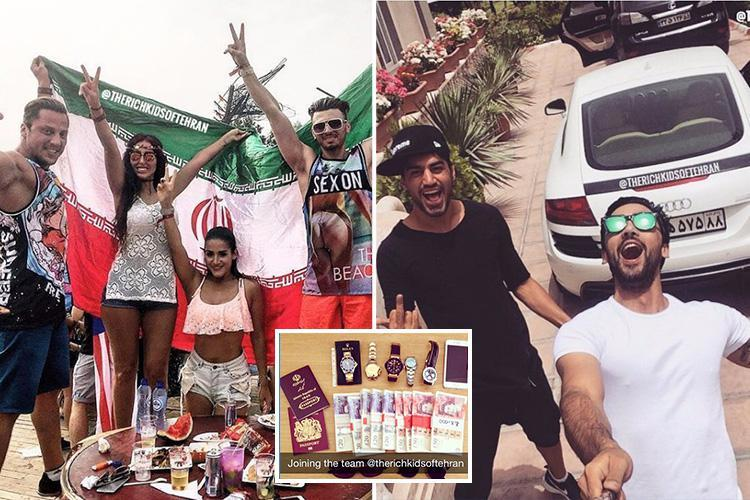 Inside the world of the rich kids of Tehran whose plush Instagram lifestyles 'are fuelling Iran protests'