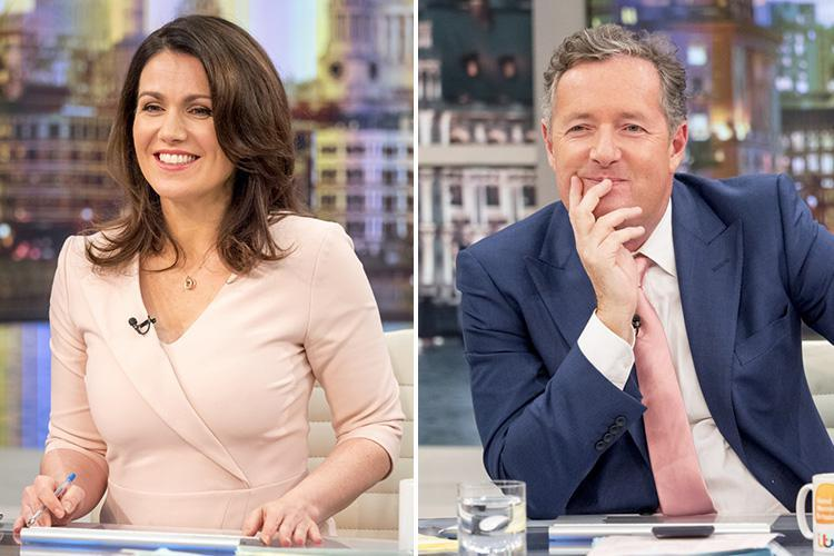 Susanna Reid insists she IS genuine friends with Piers Morgan despite their fiery on-screen spats