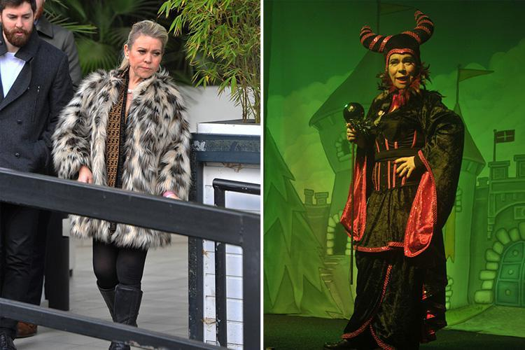 Tina Malone claims cocaine was planted in her bag in tearful interview after she was sacked from panto for admitting drug possession