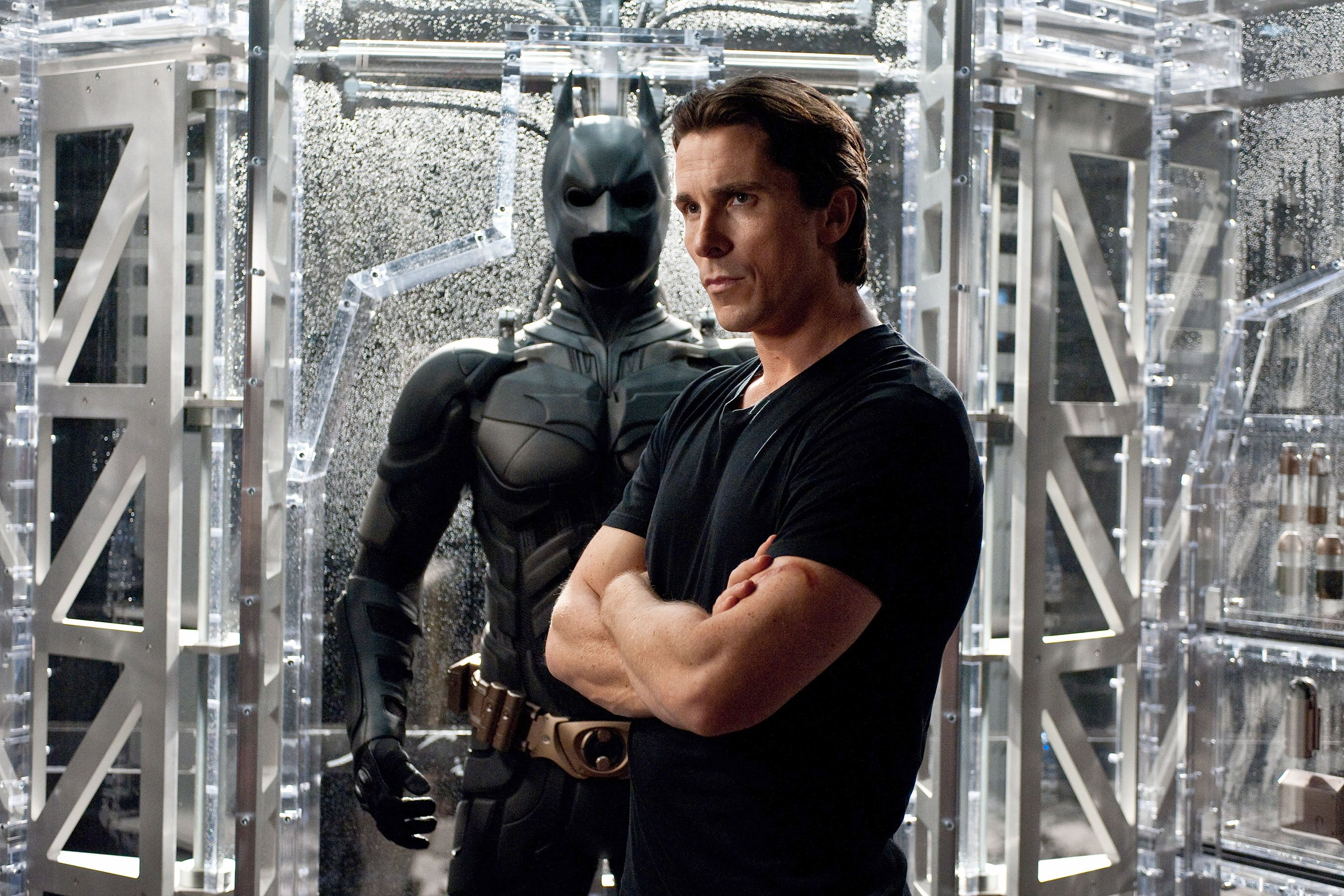 Christian Bale hasn't watched The Dark Knight Rises since Aurora shooting