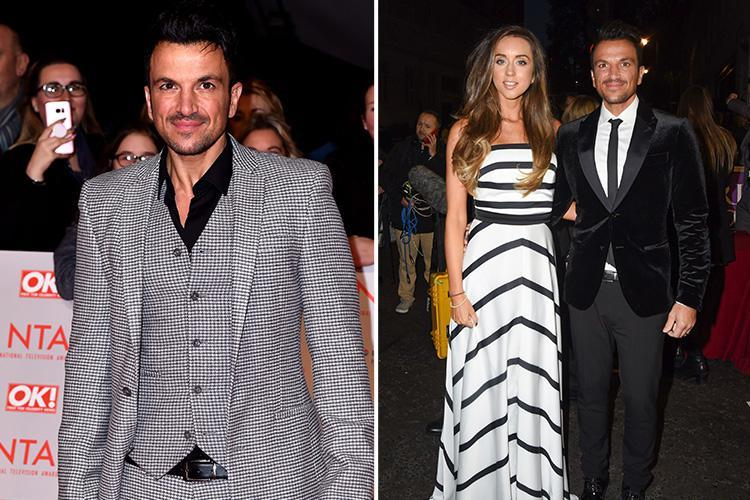 Peter Andre says wife Emily 'won't go near him in bed' after admitting he wants another baby