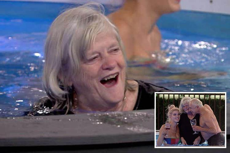 CBB spoilers: Ann Widdecombe thrills housemates as she finally gets in the Big Brother pool – while Amanda Barrie and Shane J face eviction tomorrow