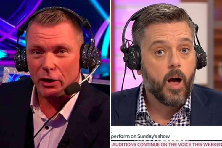 Iain Lee puts his name forward to be the new Dancing On Ice commentator after Matt Chapman quits after one week
