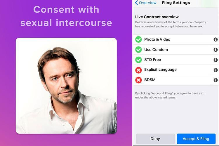 Safe sex campaigners slam new LegalFling app that gives one-night-stand rompers a contract to 'prove' first date sex was consensual