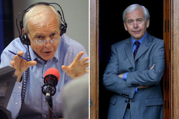 How old is John Humphrys, what is the Mastermind and Today presenter's salary and what were his jokes about the gender pay gap?